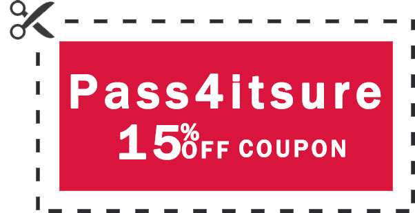 pass4itsure 15% coupon code